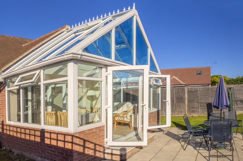 Glass Conservatory in Suffolk United Kingdom